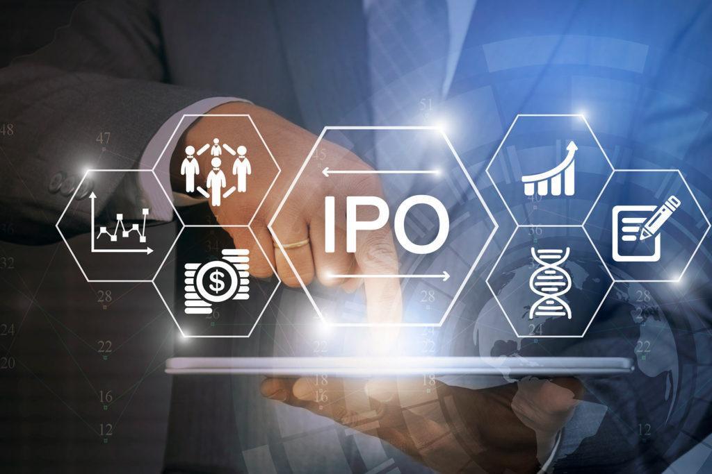 mão mostrando símbolos IPOs